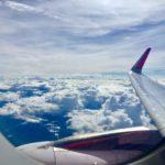 Foto dari Jendela Pesawat Terbang