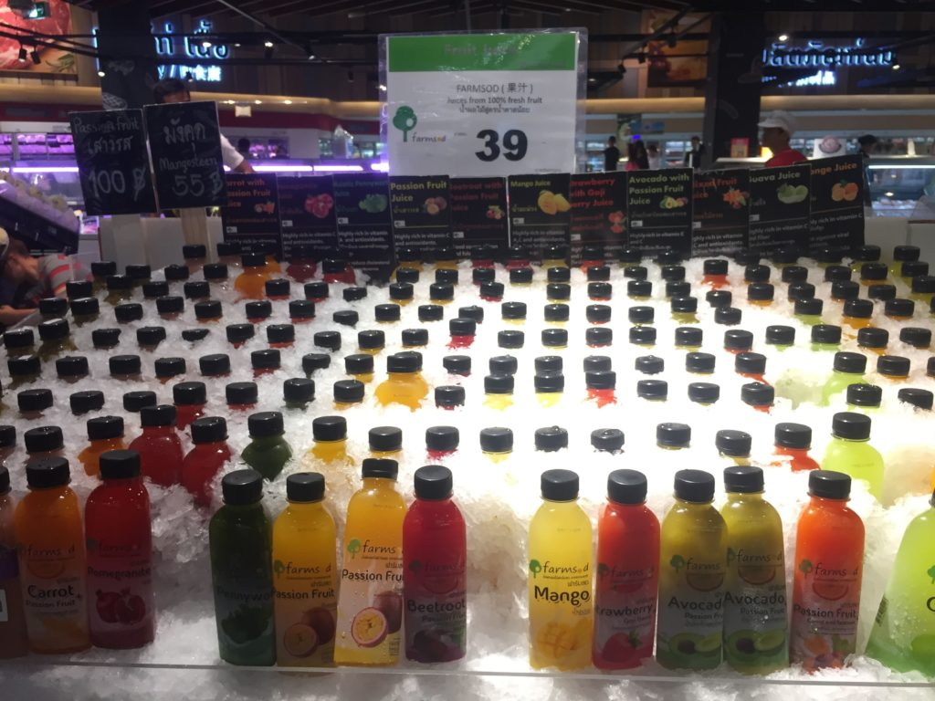 Fresh Juice in Big C Supercenter