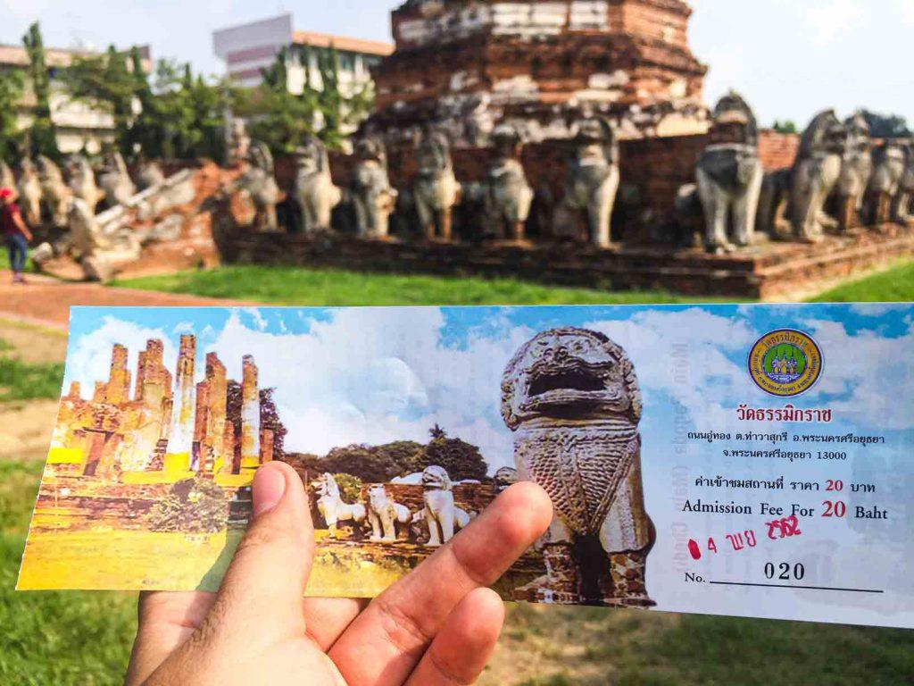 Wat Thummikarat Ayutthaya