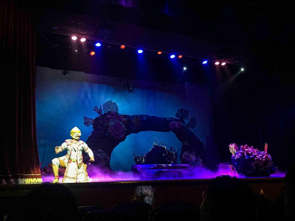 Thai Mask Dance Performance Grand Palace