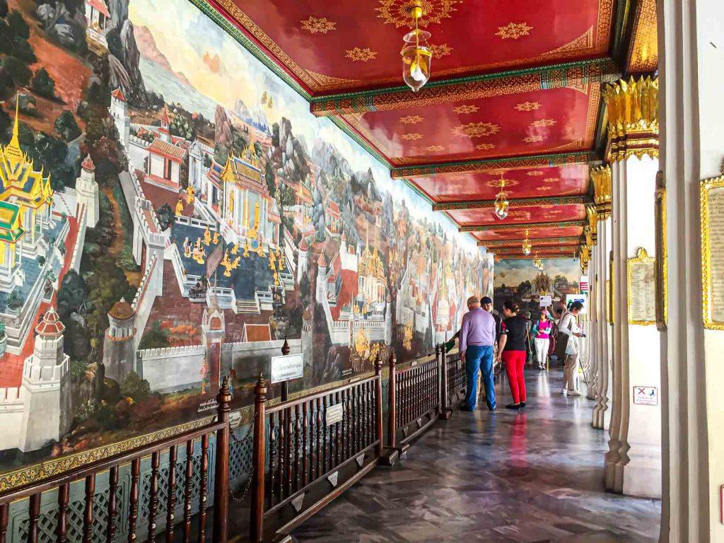 Galeri Ramakien Grand Palace Bangkok