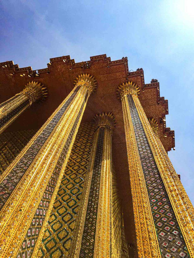 Detail bangunan Grand Palace Bangkok