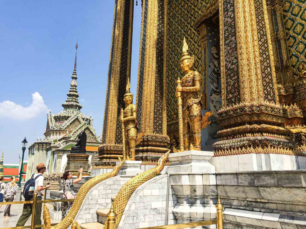 Phra Mondop Grand Palace Bangkok