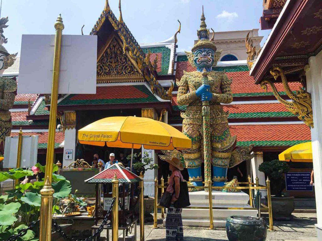 Demon of Guardians Grand Palace, Bangkok.