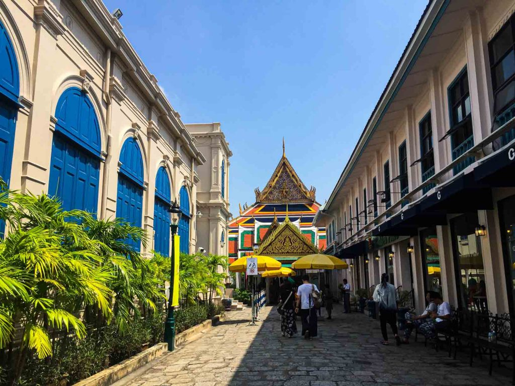 Grand Palace main entry