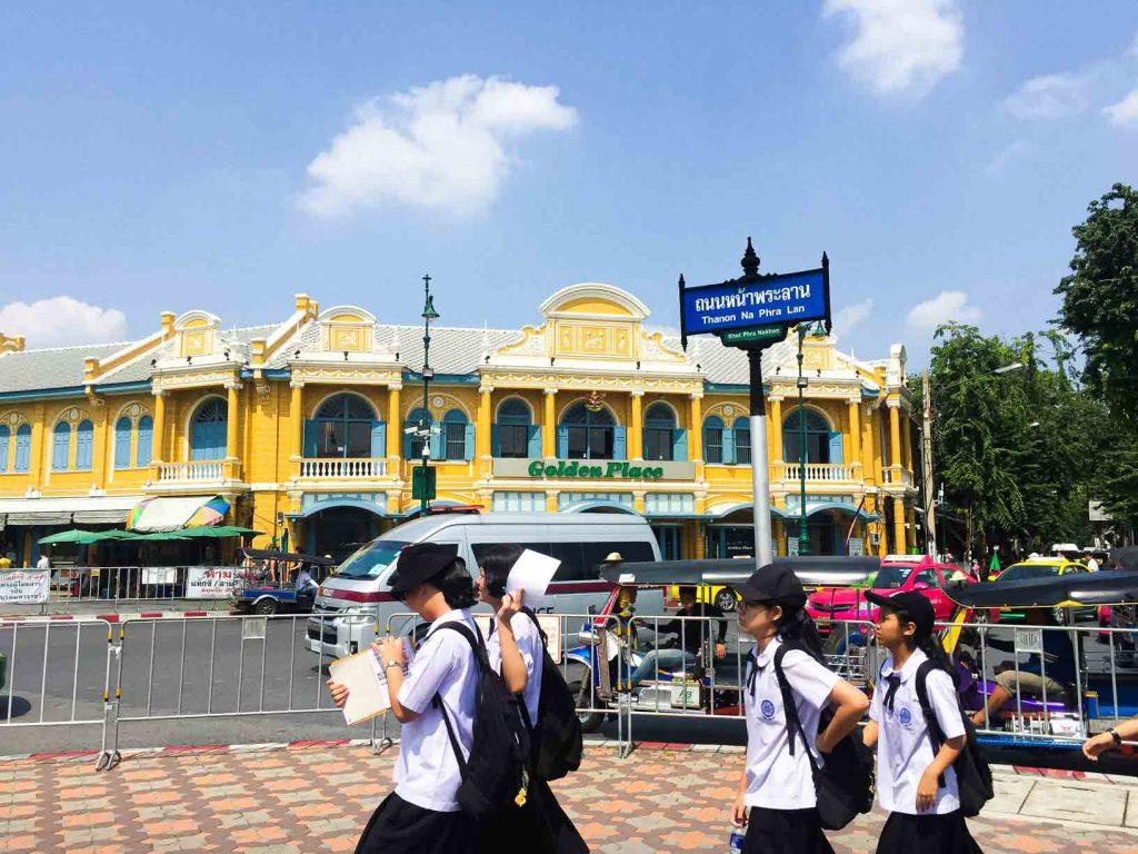 Kunjungan ke Grand Palace