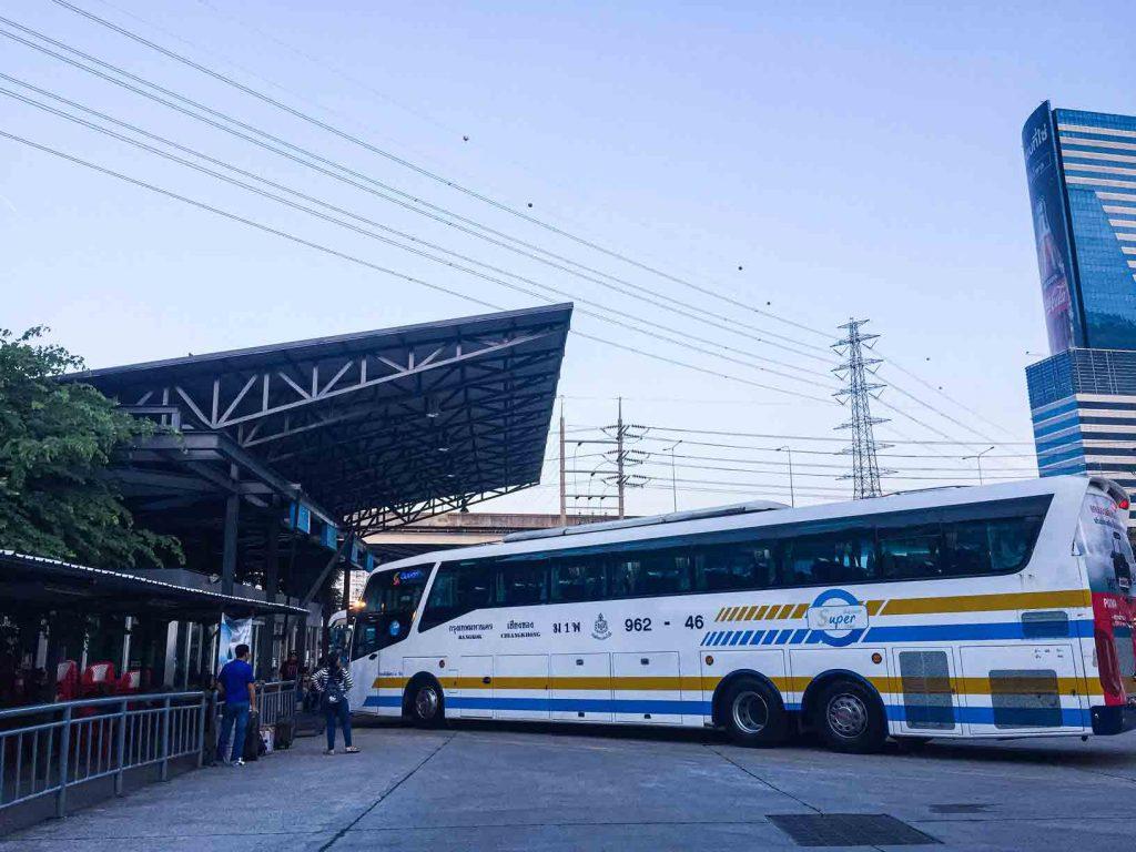 Terminal Bus Sombat Tour Bangkok
