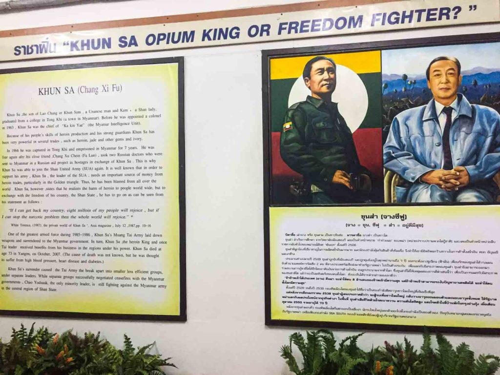 Khun Sa Opium King