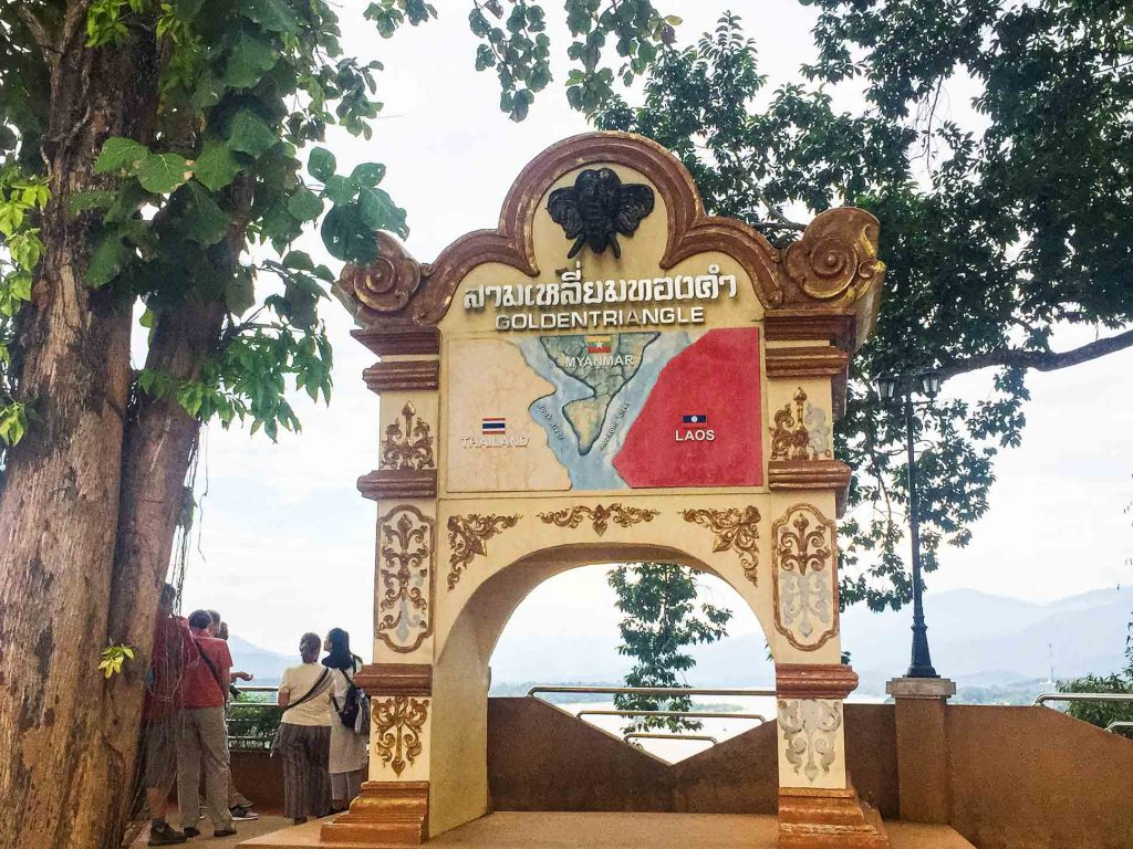 Golden Triangle Monument Chiang Rai