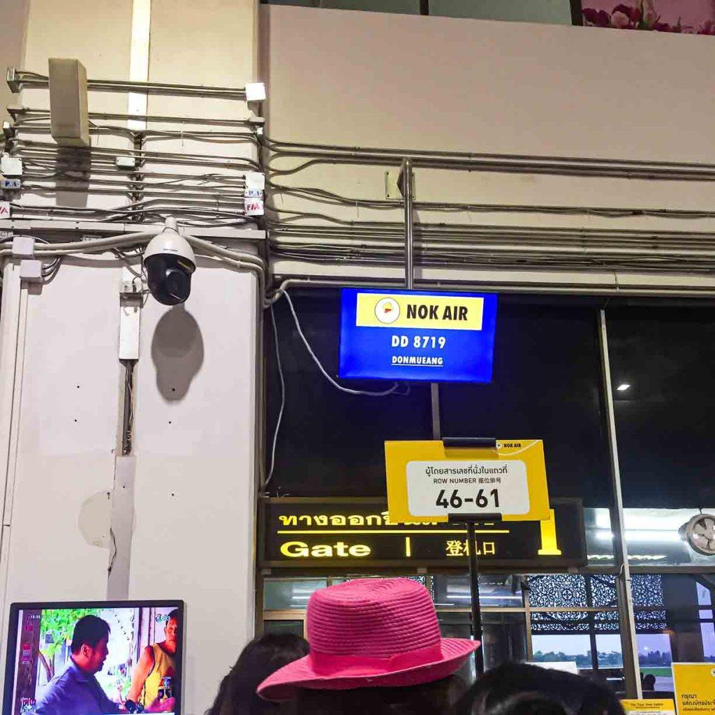 Nok Air Entry Boarding Room