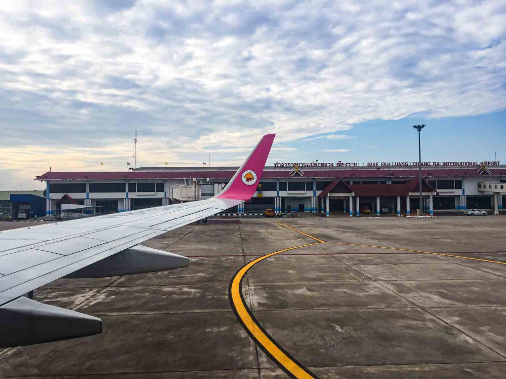 Nok Air Mae Fah Luang Chiang Rai Airport