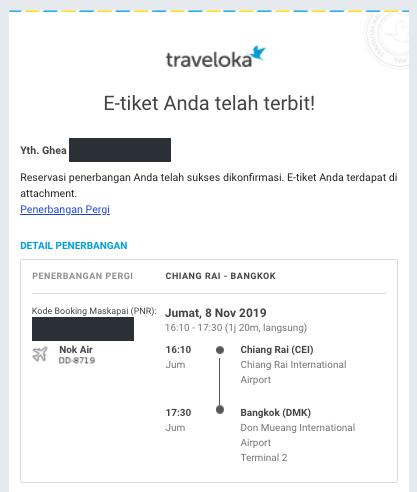 Nok Air Traveloka