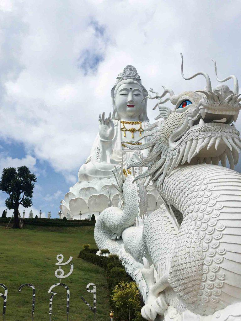 Dragon Statue Chiang Rai