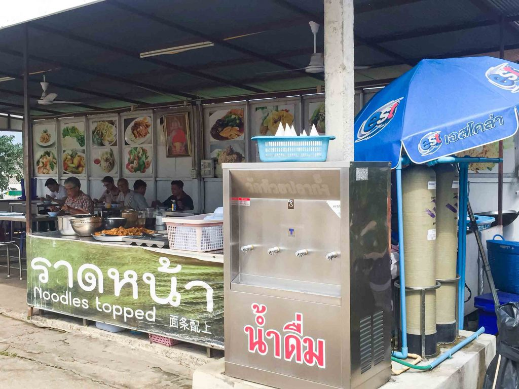 Dapur umum di kuil